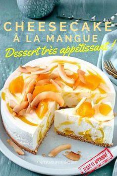 Cheesecake à la Mangue | cheesecake mangue speculoos | cheesecake mangue passion | cheesecake mangue coco | cheesecake mangue recette | cheesecake mangue sans cuisson | cheesecake mangue citron vert | recette cheesecake facile | recette cheesecake facile sans cuisson | recette cheesecake citron vert | recette cheesecake citron speculos | recette cheesecake citron sans cuisson | recette cheesecake fromage blanc | recette cheesecake mangue | mangue cheesecake