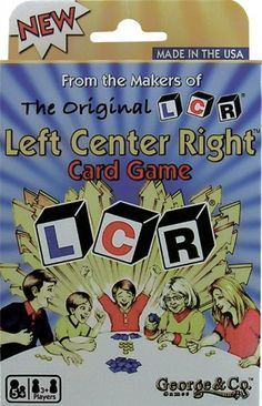 family  LCR® Left Center RightTM CARD GAME NEW! LCR http://www.amazon.com/dp/B003YCN1J8/ref=cm_sw_r_pi_dp_ypNxwb1MPPWHD