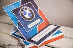 Kartka urodzinowa BMW Bmw, Cards, Maps, Playing Cards
