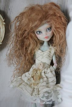 Monster High doll remaid OOAK!