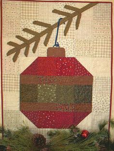 Folk Art Quilt Pattern LARGER THAN LIFE by PrimFolkArtShop, $7.95
