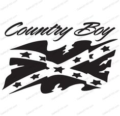 Our decals are made using high quality Oracal vinyl indoor, outdoor). Different sizes are available as well as 12 colors to choose from! Vinyl Crafts, Vinyl Projects, Silhouette Projects, Silhouette Design, Silhouette Cameo, Country Boy Tattoos, Rebel Flag Tattoos, Westerns, Flag Coloring Pages