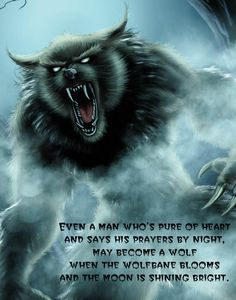 The werewolf curse. Field Of Dreams, Werewolf, Artworks, Horror, Bloom, Pure Products, Night, Movie Posters, Film Poster