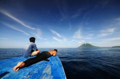 Stunning scenery in northern Sulawesi