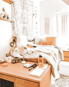 p i n t e r e s t College Dorm Decorations College Dor. - p i n t e r e s t College Dorm Decorations College Dorm Rooms - College Bedroom Decor, College Dorm Rooms, Room Ideas Bedroom, Boho Dorm Room, Bedroom Inspo, Dorm Room Closet, Dorms Decor, Office Decor, Dorm Room Designs