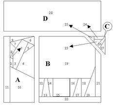 Patchwork patroon: Varken