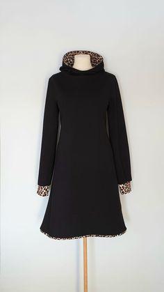Kjole str.42 Handmade Dresses, High Neck Dress, Turtle Neck, Sweaters, Fashion, Scale Model, Turtleneck Dress, Moda, Fashion Styles