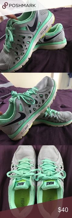 Women's Nike Running Shoes Women's Nike Running Shoes in good condition.  They have some wear, but still look great.  Size 10. Nike Shoes Athletic Shoes