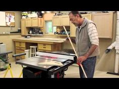 SawStop Outfeed Table Pt 2 A - YouTube