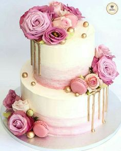 Cake Inspiration I just adore the Elegance of this divine cake from You are in the right place about Birthday Cake rainbow H Vanilla Birthday Cake Recipe, Easy Birthday Cake Recipes, Funny Birthday Cakes, Elegant Birthday Cakes, Pretty Birthday Cakes, Adult Birthday Cakes, Pretty Cakes, Beautiful Cakes, Birthday Kids