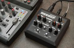 The first production MeeBlip anode synthesizer