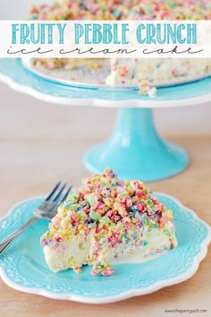 This Fruity Pebble Crunch cake is so good you'll be trying to eat it for breakfast.