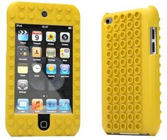 Lego iPhone case from Tinkerbrick works with standard bricks!