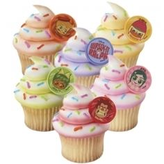 Image detail for -Wreck it Ralph Party: Cupcake Rings 8 Pk Party Supplies Canada - Open ...