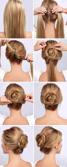 Ideas at the House: 15 penteados fáceis que você pode fazer em menos d...