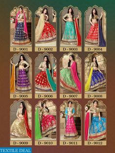 India Ka Filmy Wala Style - Wholesale Bridal Lehenga Supplier from Surat India Check out Nandita Asian Bridal 9001 Series Supplier Casual Bridal Lehenga Catalogs at http://goo.gl/2lWsqU Catalog Pieces: 12 Full Catalog Price: 10656 Price per Piece: 888 Shipping Time: 4-5 Days Ready to Dispatch with Blouse #BridalCollection #FashionIndia #FestivalSale