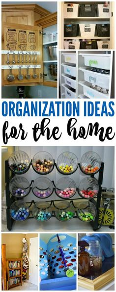 Organization Ideas for the Home! How to Organize Your House for the New Year!