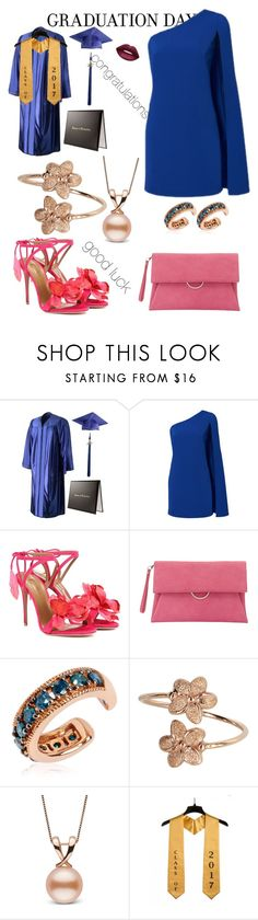 """""""graduation day"""" by bajana ❤ liked on Polyvore featuring Aquazzura, Mint Velvet, Annoushka and Lime Crime"""