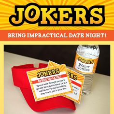 Have you seen the reality show Impractical Jokers? If not, you are in for a treat! If you have then you will LOVE this group date! Get your craziest friends and go out on the town! Dating Divas, Couples Game Night, Great Date Ideas, Group Dates, Mystery Date, Inexpensive Dates, Watermelon Day, Grow Old With Me, Romantic Dates