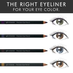 How-to Find the Right Eyeliner for Your Eye Color