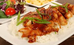 Minimal prep, incredibly flavoursome, and cheaper and healthier than a take-away, slow cooking teriyaki chicken is a win-win. Oh-so tender, it. Fun Foods To Make, Food To Make, Chicken Teriyaki Recipe, Chicken Recipes, Baby Food Recipes, Healthy Recipes, Skinny Recipes, Salsa Teriyaki, Epicure Recipes