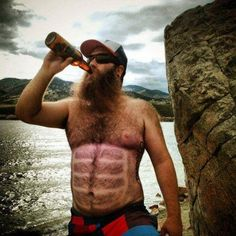 Hairy Six Pack This dude wins.