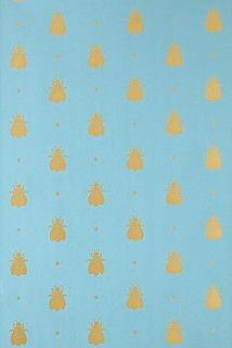 Bumblebee Wallpaper - contemporary - wallpaper - by Farrow & Ball