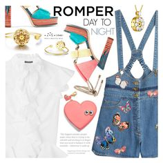 """Day to Night:Romper"" by totwoo ❤ liked on Polyvore featuring Valentino, Alexander McQueen, Jimmy Choo and Sophie Hulme"
