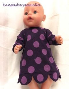 paitakaava nukelle Diy And Crafts, Crafts For Kids, Doll Sewing Patterns, Barbie Clothes, Baby Dolls, Handicraft Ideas, Nepal, Apron, Projects