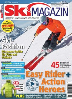 Ski-Fashion - Die neuen Outfits für Piste und Gelände. Gefunden in: Skimagazin, Nr. 5/2014