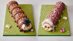 This cake is getting married and you can't even get a date Image:  marks and spencer  By Rachel Thompson2017-02-02 10:52:36 UTC  LONDON  Colin the Caterpillar has been a birthday cake staple in British households for the past 26 years.   But this beloved birthday cake has some news. Hes getting hitched to Connie whos also a cake.  OK so we know that cakes cant actually get married. Marks and Spencer is launching two wedding cakes Colin the Groom and Connie the Bride.  Connie the Bride sports…