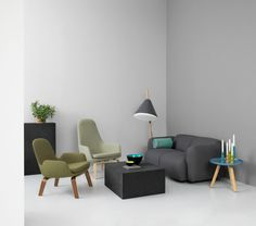 Era Lounge Collection from Normann Copenhagen is classic, inviting, nostalgic and curved. That's one way of describing the new range of lounge chairs design Living Room Seating, Living Room Grey, Do It Yourself Sofa, Green Armchair, Sofa Deals, Best Leather Sofa, Lounge Chair Design, Lounge Chairs, Room Chairs