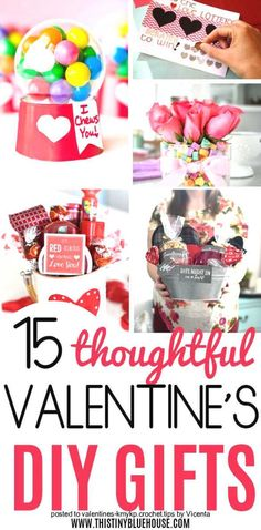 Spoil the special someone in your life with these thoughtful and genius DIY Valentine& Day gifts. Nothing says I love you more than a cute homemade gift. Diy Gifts Valentine's Day, Diy Holiday Gifts, Valentine's Day Diy, Diy Valentine's Day Gifts For Teachers, Valentine Gift Baskets, Valentines Day Gifts For Her, Valentines Diy, Preschool Valentine Ideas, Valentines Day Sayings