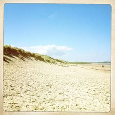 Wow - where else can you get a beach like this?  Warkworth beach, Northumberland