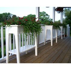 This Raised Planter in White Resin - Great for Herbs Vegetables and Flowers is the ideal way to add color to the deck or patio. Lifted to 34 inches on sturdy legs, it is the most comfortable way to garden. Easy on your back and knees, it allows you to create gardens in apartments and other locations where space is at a premium. - Raised Planter in White Resin - Great for Herbs Vegetables and Flowers - High-quality resin - Packs compactly for storage - Lightweight and durable material that…