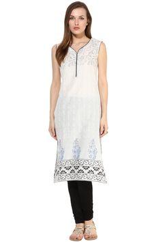 KylaF - White Cotton Kurti with Printed - Z2519PKYL619-57 #casual #officewear #college #kurtis @ http://zohraa.com/kurtis/casual.html #zohraa #onlineshop #womensfashion #womenswear #bollywood #look #diva #party #shopping #online #beautiful #salwar #kameez #beauty #glam #bollywood #shoppingonline #styles #stylish #model #fashionista #women #lifestyle #girls