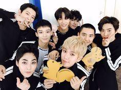 Countdown promo in Japan Kris Wu, Luhan And Kris, Baekhyun Chanyeol, Park Chanyeol, Kpop Exo, Exo K, Exo Group Photo, Nct Dream Members, Exo Album