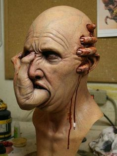 Awesome Arte Horror, Horror Art, Creepy Art, Scary, Avatar Picture, Fallout Art, Design Tattoo, Sculpture, Zbrush