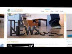 Portifólio em vídeo do estúdio Webshocker.