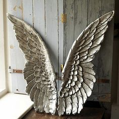 architectural salvage - angel wings?