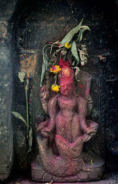 Matsya statue in Nepal.