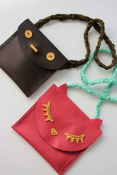 DIY Leather Pouches For Kids | Leather Crafts | Create Your Own Durable DIY Accessories