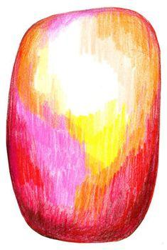 Tapis Scribble / 300 x 200 cm Rouge, Jaune - Moooi Carpets