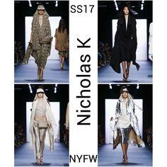 Nicholas K SS17: Presenting at the Skylight Moynihan Station, Christopher and Nicholas Kunz showed 47 looks on the NYFW catwalk inspired by Theeb. http://www.missfashionnews.com/nyfw-nicholas-k-ss17/