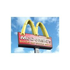 ❤ liked on Polyvore featuring mcdonalds