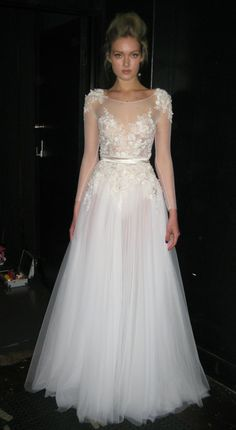 Flashback to one our 2012 runway shows and the beautiful Melissa Johannsen wearing a gown from the 2012-13 SS Collection