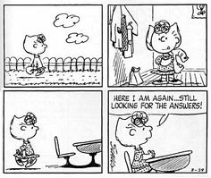 peanuts comic strip about school - Yahoo Image Search Results Peanuts Snoopy, Peanuts Comics, Sally Brown, Laughter The Best Medicine, Lucky Luke, Charlie Brown And Snoopy, School Memes, Amazing Adventures, Good Ol