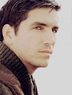 Inspiration...it's all in the eyes! Brown Hair Male, Hottest Male Celebrities, Celebs, Jim James, James Caviezel, Hemsworth Brothers, John Reese, Just Beautiful Men, Colin O'donoghue