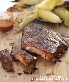 Barbeque Pork Ribs with Magic Dust