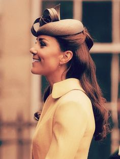 Kate Middleton wearing Emilia Wickstead today in Scotland.